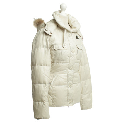 Blauer USA Down jacket with fur hood