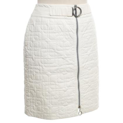Laurèl Mini rok in crème wit