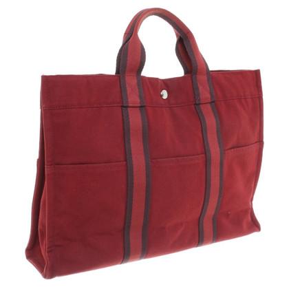 Hermès Handtas in het rood