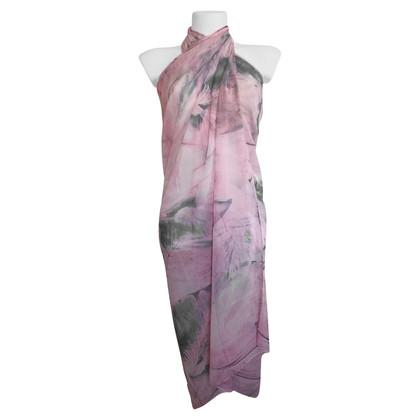 La Perla Pareo in Pink / Gray