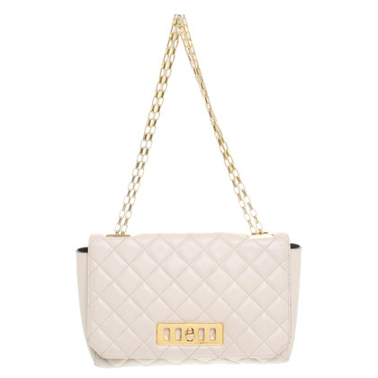 "Michael Kors Shoulder bag ""Vivian Quilted Shoulder Flap Vanilla"""