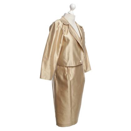 Max Mara zijden jurk met jasje