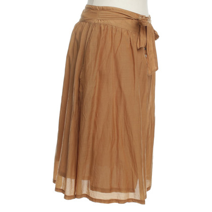 Bruuns Bazaar skirt in Ocker