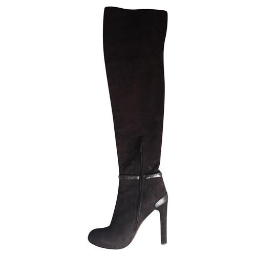 d8c51ffd7783 Fendi Overknee Stiefel - Second Hand Fendi Overknee Stiefel ...
