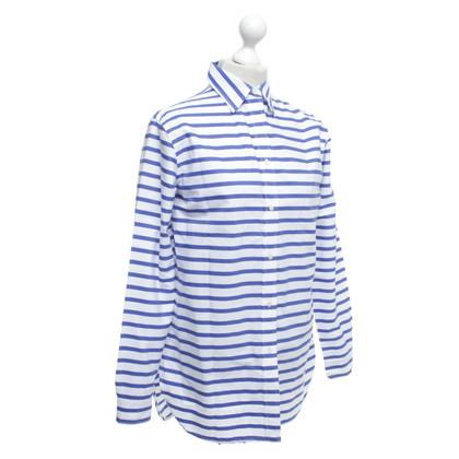 Ralph Lauren Camicetta da camicia con motivo a strisce
