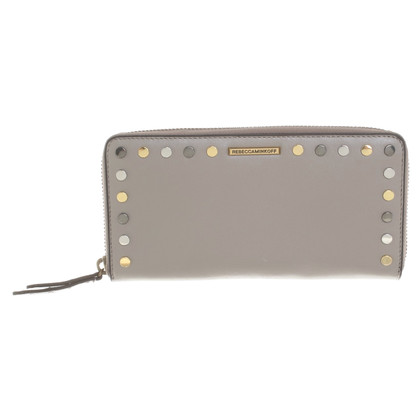 Rebecca Minkoff Portemonnee in taupe