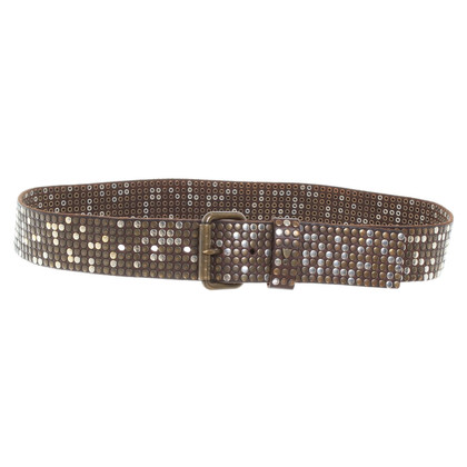 Other Designer H.T.C. - belt with rivets