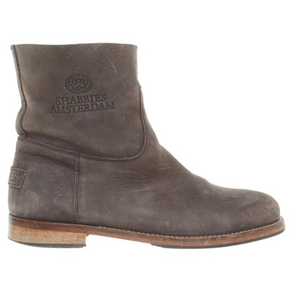 Shabbies Amsterdam Ankle Boots in Bruin