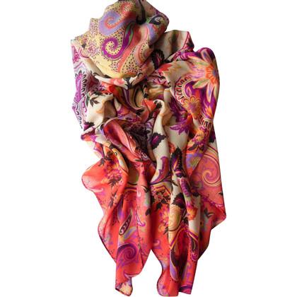 Etro Tissu en laine / soie