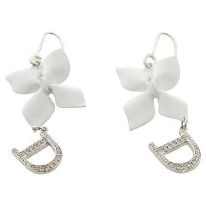 Christian Dior Earrings with flowers