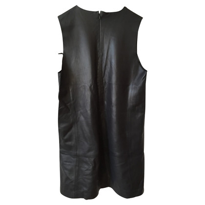 Balenciaga Balenciaga Dress Black Leather T.42