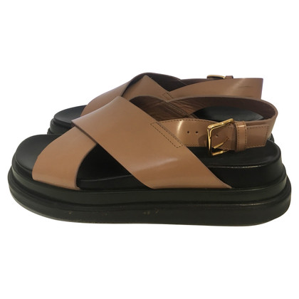 Marni Sandals in beige