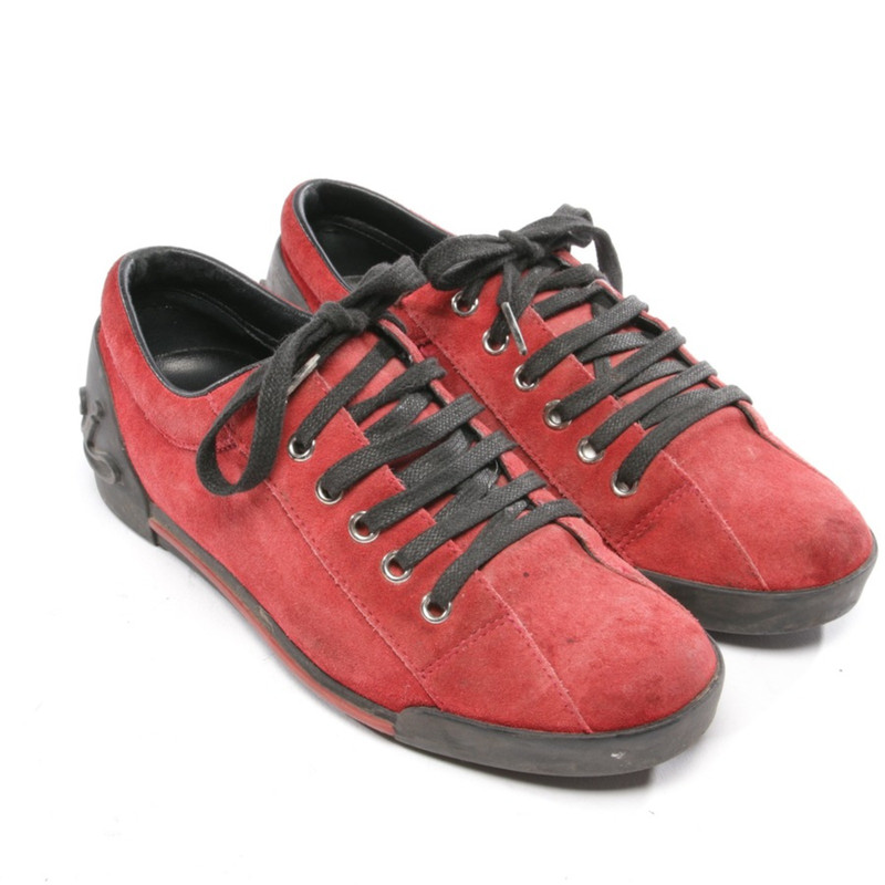 Gucci Trainers Leather in Red - Second