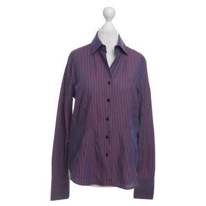 Van Laack Gestreepte blouse in purple