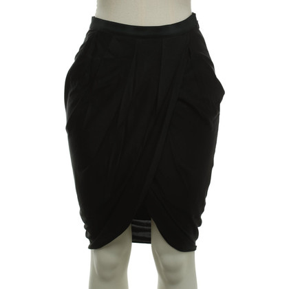 Alexander Wang skirt in wrap-look