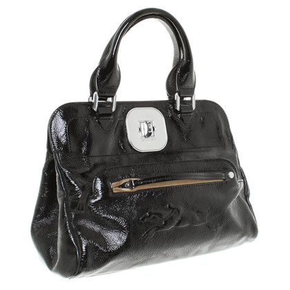 Longchamp Handtas in zwart