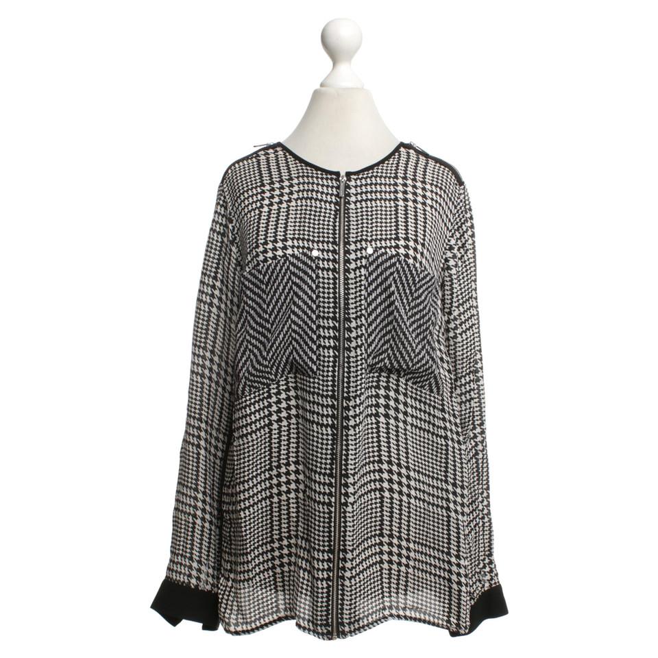 michael kors bluse mit muster second hand michael kors bluse mit muster gebraucht kaufen f r. Black Bedroom Furniture Sets. Home Design Ideas