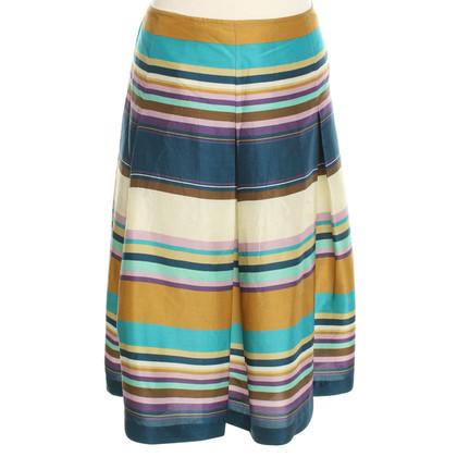 Max Mara skirt with striped pattern