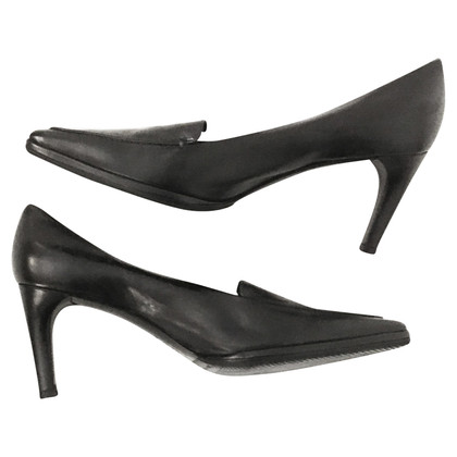 Jil Sander Pumps in Schwarz