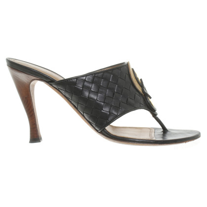 Bottega Veneta Mules in zwart