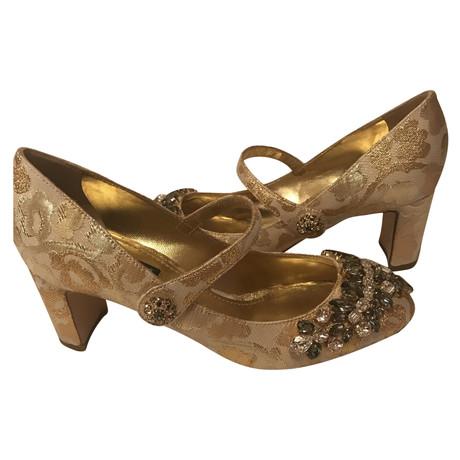 Dolce & Gabbana Pumps Gold