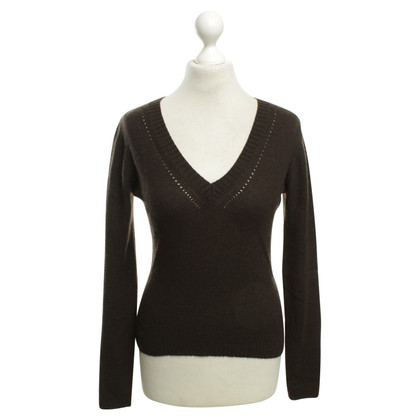 St. Emile Cashmere sweater in brown