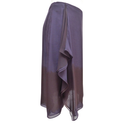 Giorgio Armani Silk skirt with winding effect