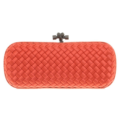 "Bottega Veneta ""Stretch Knot Bag"" in orange"
