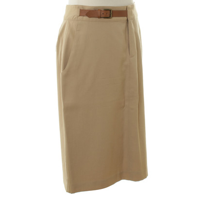 Ralph Lauren Wool skirt in beige