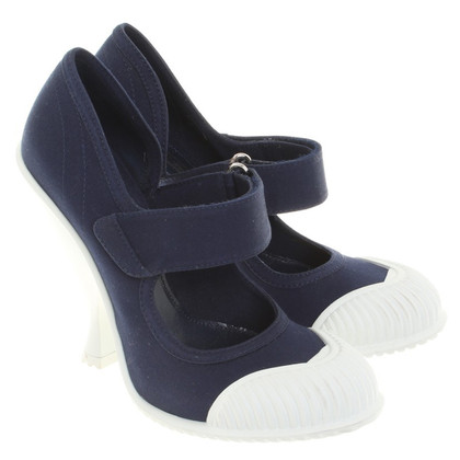 Prada pumps in blauw