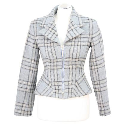 Karen Millen Karierte Jacke aus Wolle