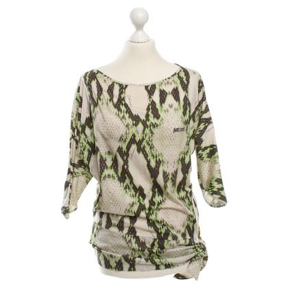 Just Cavalli Shirt met reptiel druk