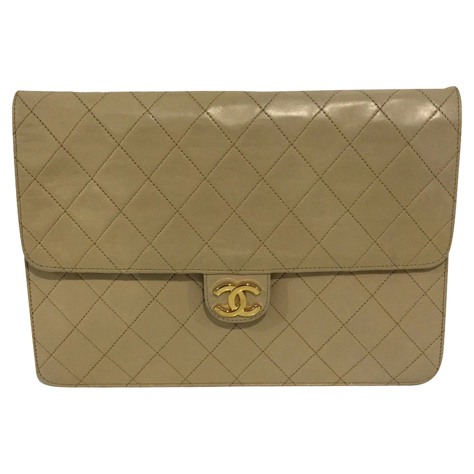 Chanel Flap Bag in Beige