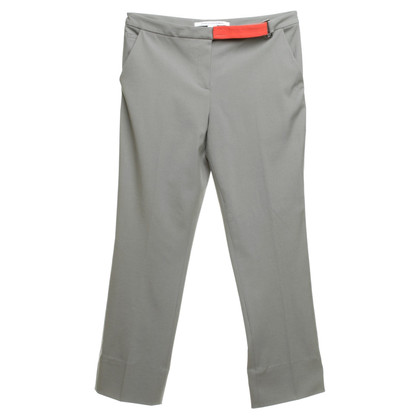 "Diane von Furstenberg trousers ""Dion"" in light gray"