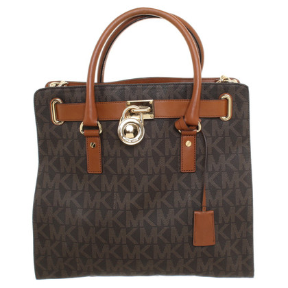 "Michael Kors ""Studio Hamilton Bag Large"" in Brown"
