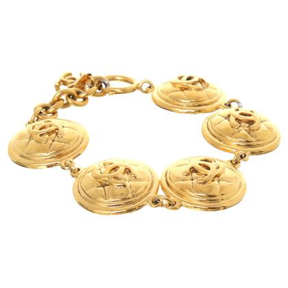 Chanel CC logo bracelet