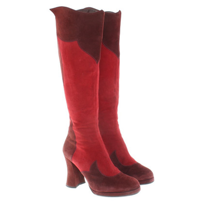 Anna Sui Boots in Bordeaux