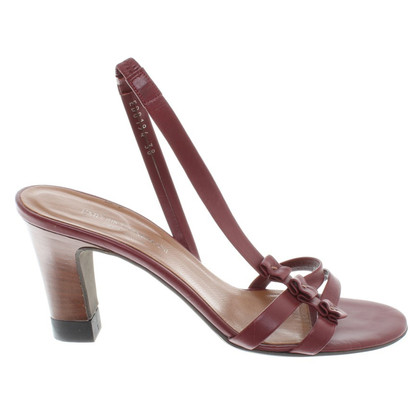 Armani Sandals in Bordeaux