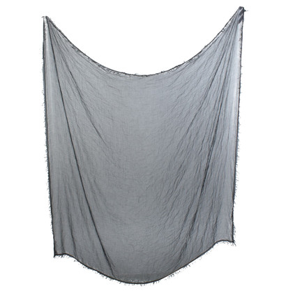 Faliero Sarti Gray shawl from material mix