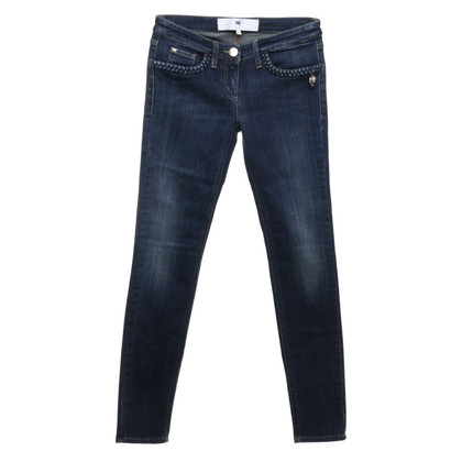 Elisabetta Franchi Jeans in used-look