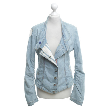 Marithé et Francois Girbaud Denim jacket in light blue
