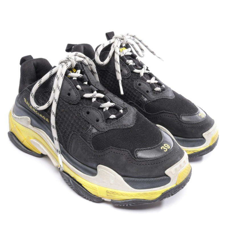 END Features Balenciaga Triple S Black Red Now Available