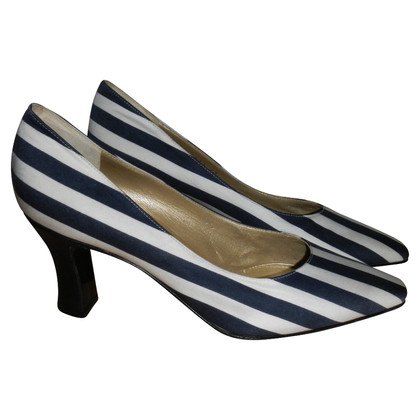 Gianni Versace striped shoes