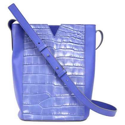 Vince Bucket Bag in Blau
