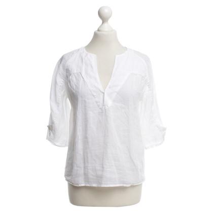 Closed Korte mouwen blouse in het wit