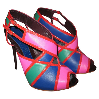 Alexander McQueen Alexander McQueen kleurblok sandalen