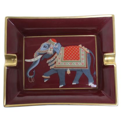 Hermès Portacenere con motivo elefante