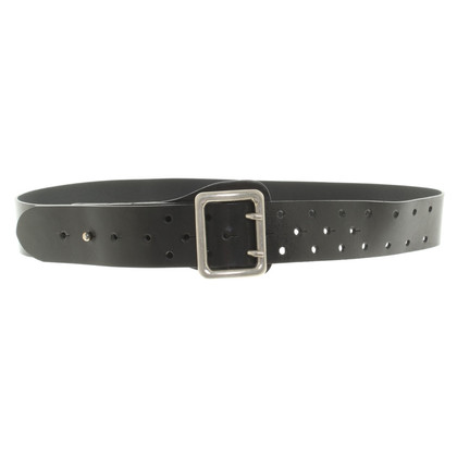Ann Demeulemeester Belt made of leather