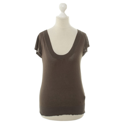Max Mara T-shirt in marrone