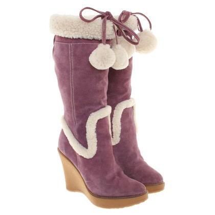 Bally Boots with sheepskin